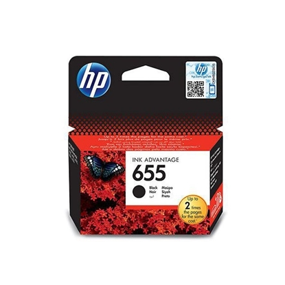 Picture of  Cartridge HP 655 Genuine Advantage Black Ink