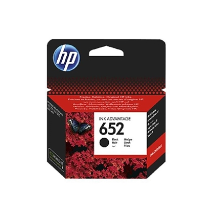 Picture of HP 652 Black Ink Cartridge
