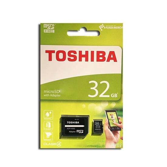 Picture of SD memory card Class 4