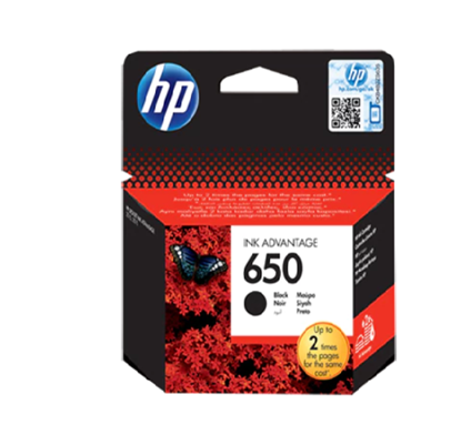 Picture of Ink HP 650BLCK Cartridge