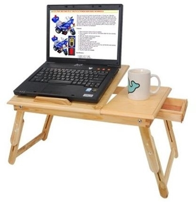 Picture of Wooden laptop table