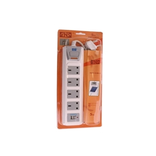 Picture of VNS POWER SOCKET - 4 Sockets - 5 M - 2 USB