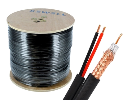 Picture of RG6 ROLL CABLE WITH POWER l - SMART 305M